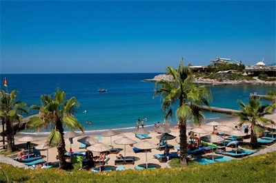 Pine bay holiday resort beach kusadasi